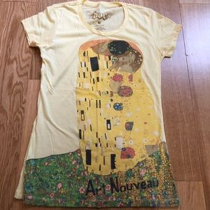 3 Graphic T-shirts, Famous Paintings, size medium